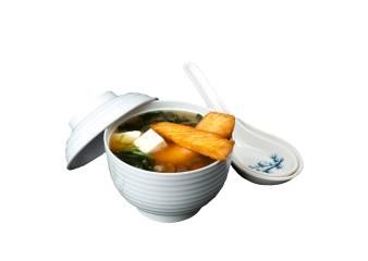 Мисо суп с жареным лососем (255гр.)