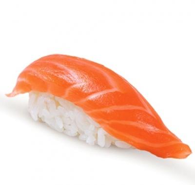 Суши с копченым лососем(35гр.)